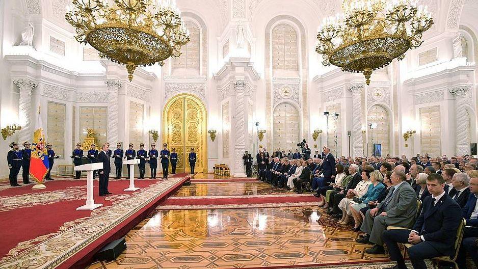 Церемония вручения государственных премий Российской Федерации