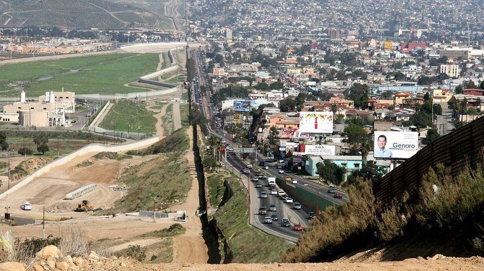 Граница Мексии и  США