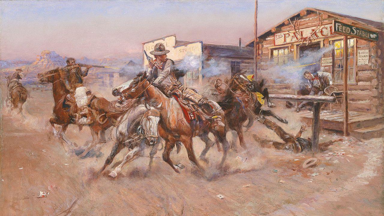 Чарльз Марион Рассел. Smoke of a .45
