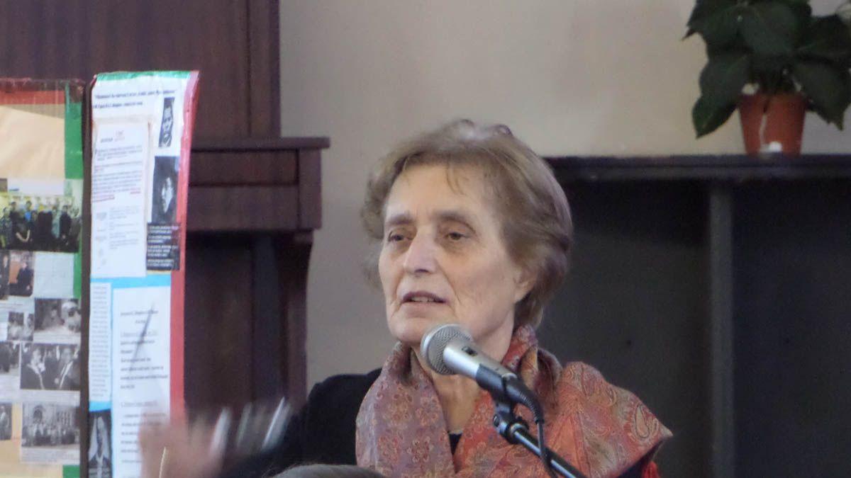 Инесса Давидовна Аванесян. 02.11.2017.  Санкт-Петербург.