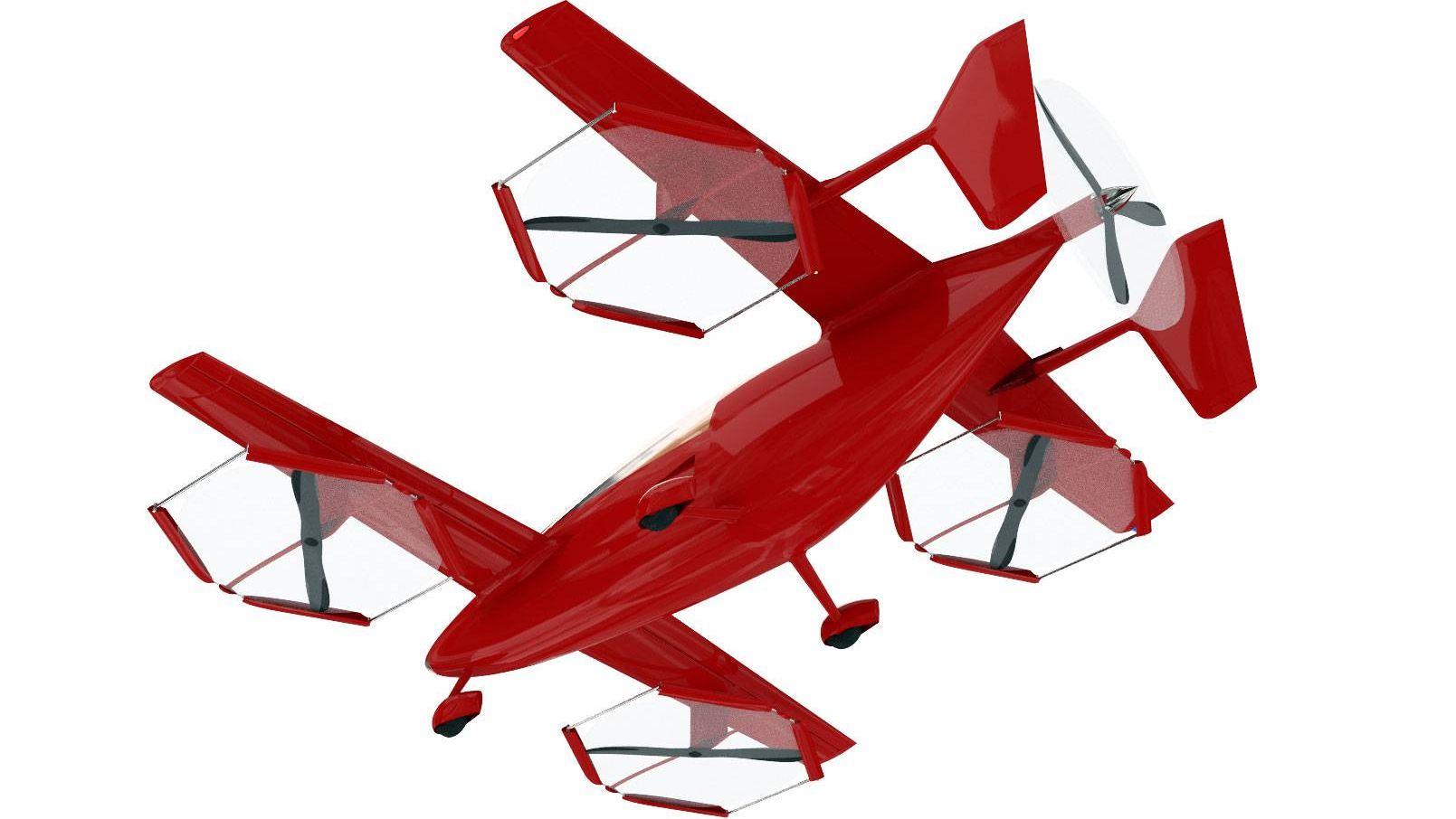 Универсальный самолет вертикального взлета