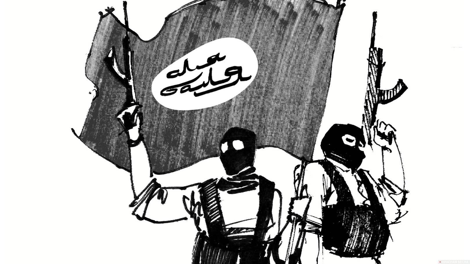 Рисунок исламисты