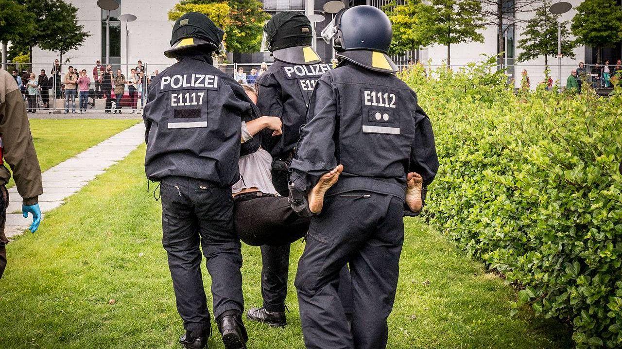 Полиция работает