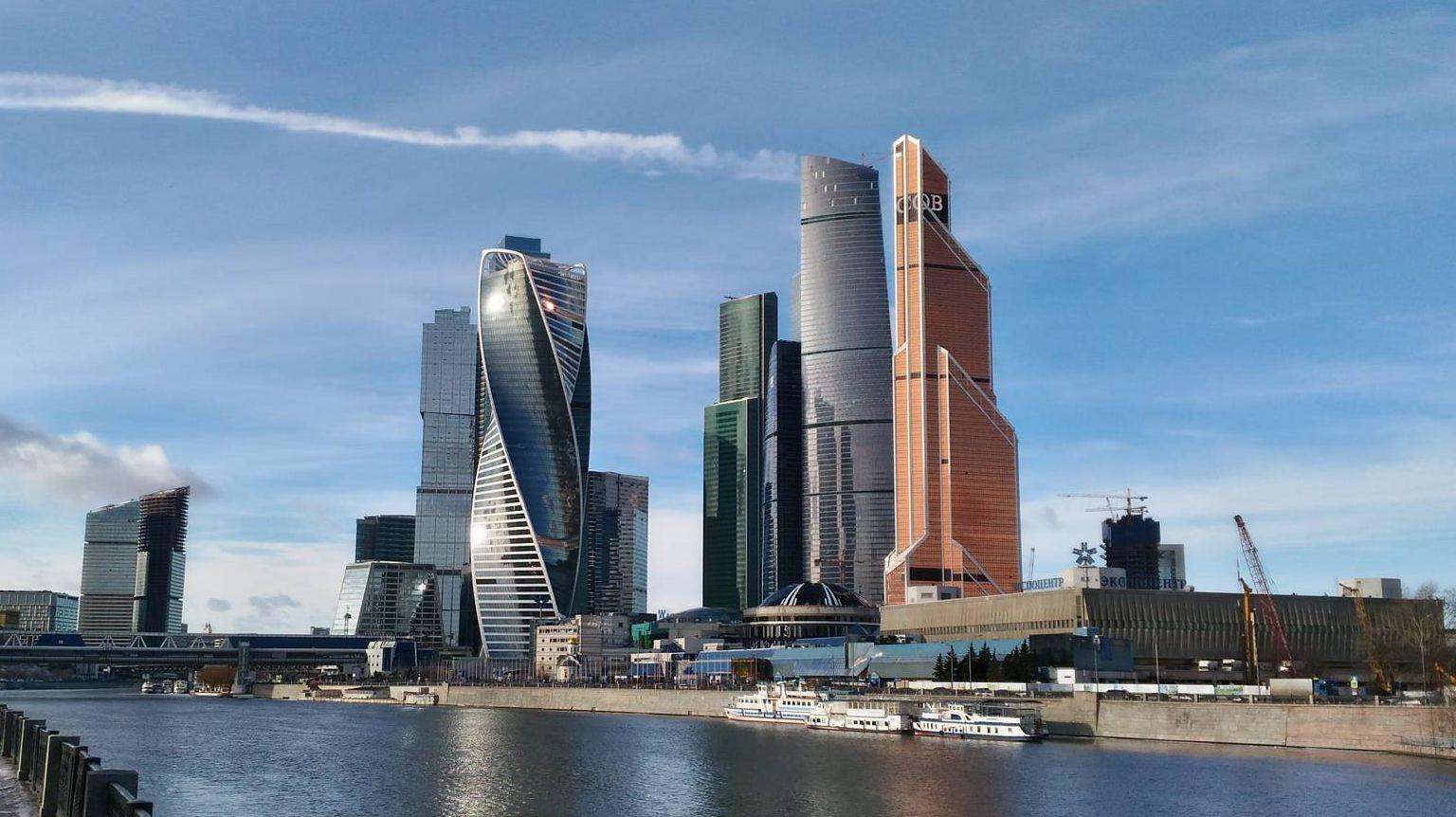 Москва, Москва-Сити, Небоскрёбы