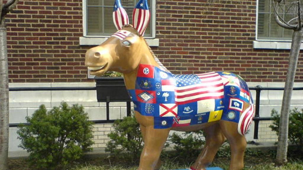 Осел - неофициальный символ демократической партии США