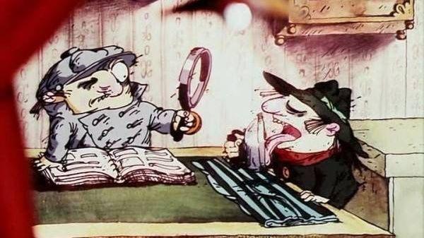 Цитата из м.ф. Следствие ведут Колобки реж. Александр Татарский, Игорь Ковалёв 1986 г.