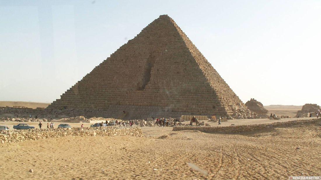Пирамида. Гиза. Египет