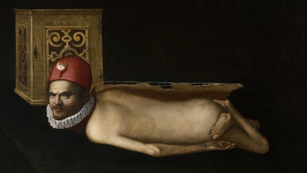 Неизвестный автор. Портрет парализованного мужчины. XVI в.
