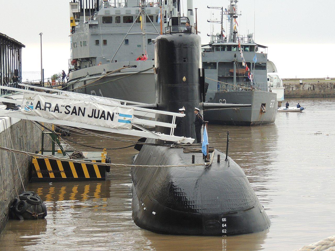 Дизель-электрическая подводная лодка «Сан-Хуан» ВМС Аргентины