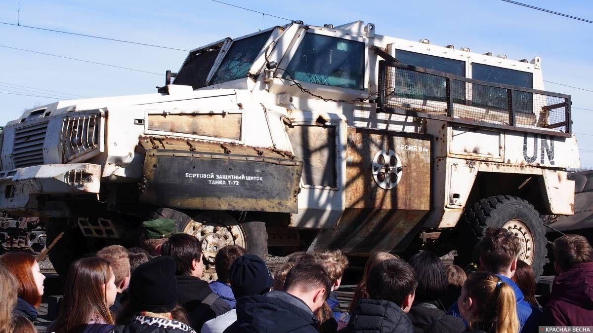 Бронированный автомобиль RG-31 «Nyala»