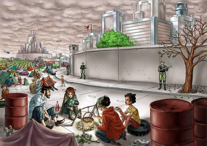 Таксономия будущего Пола Раскина. Варваризация. Мир крепостей («многоэтажное человечество»)