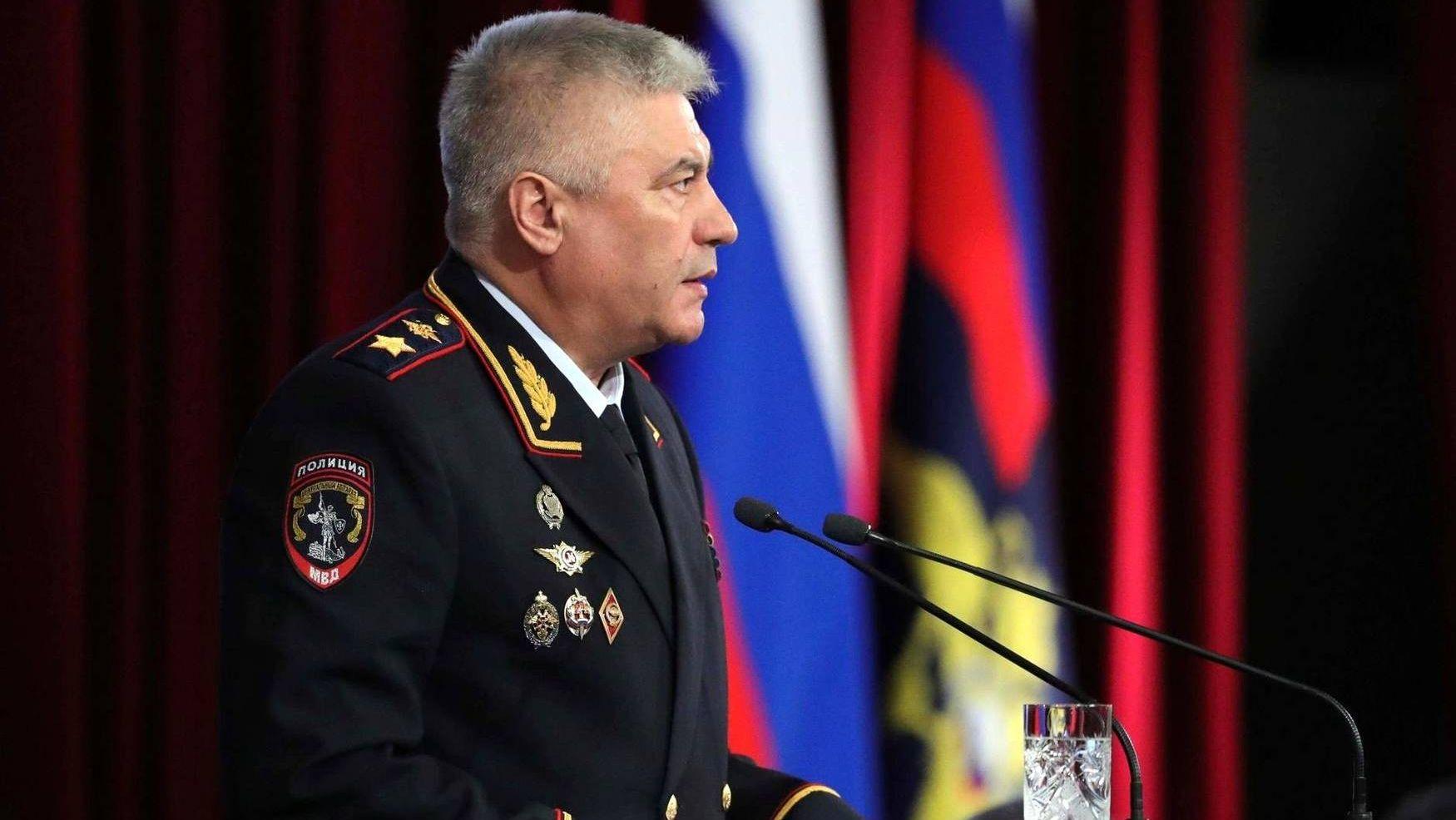 Владимир Колокольцев. МВД России