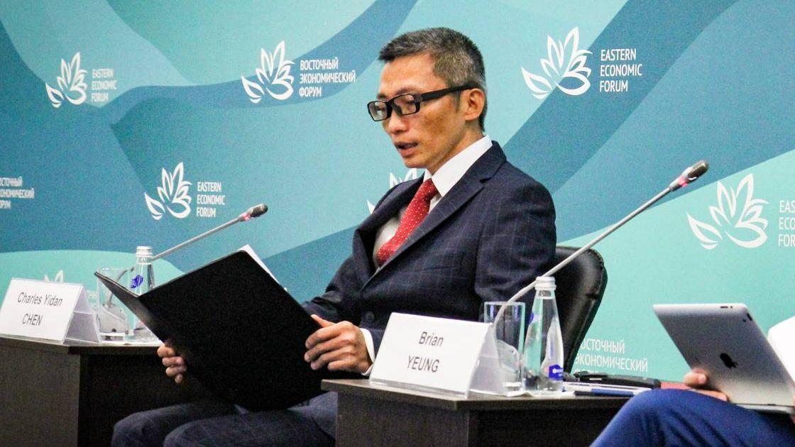 Основатель Tencent Holdings Limited Чарлз Идань Чэн на ВЭФ-2018, Владивосток