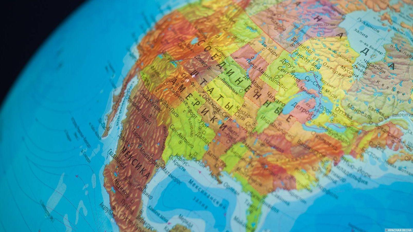 Северная Америка США