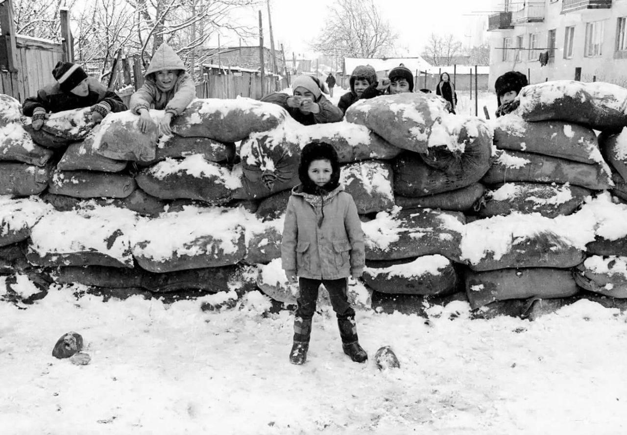 Югоосетинская детвора в начале 90-х