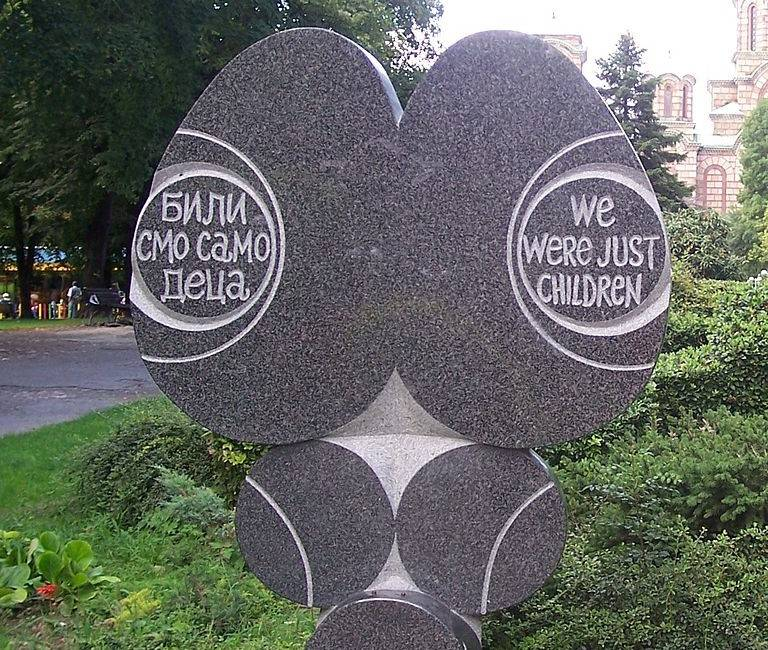 «Мы были всего лишь детьми». Мемориал в память о жертвах бомбардировок НАТО. Белград, Сербия