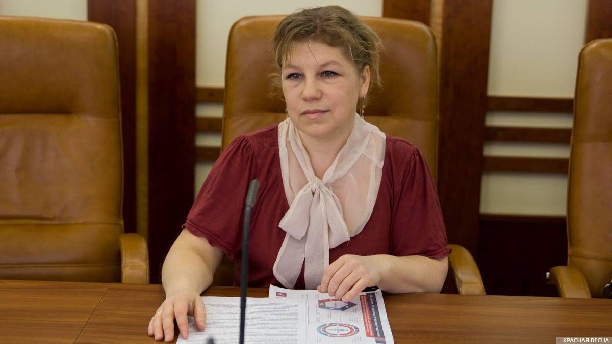 Круглый стол в Совфеде Анна Кульчицкая