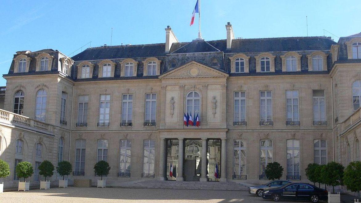 Елисейский дворец. Париж