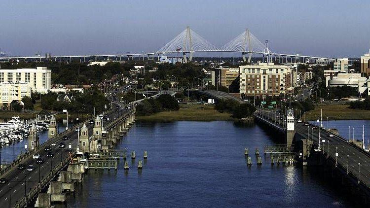 Чарлстон, Южная Каролина, мосты