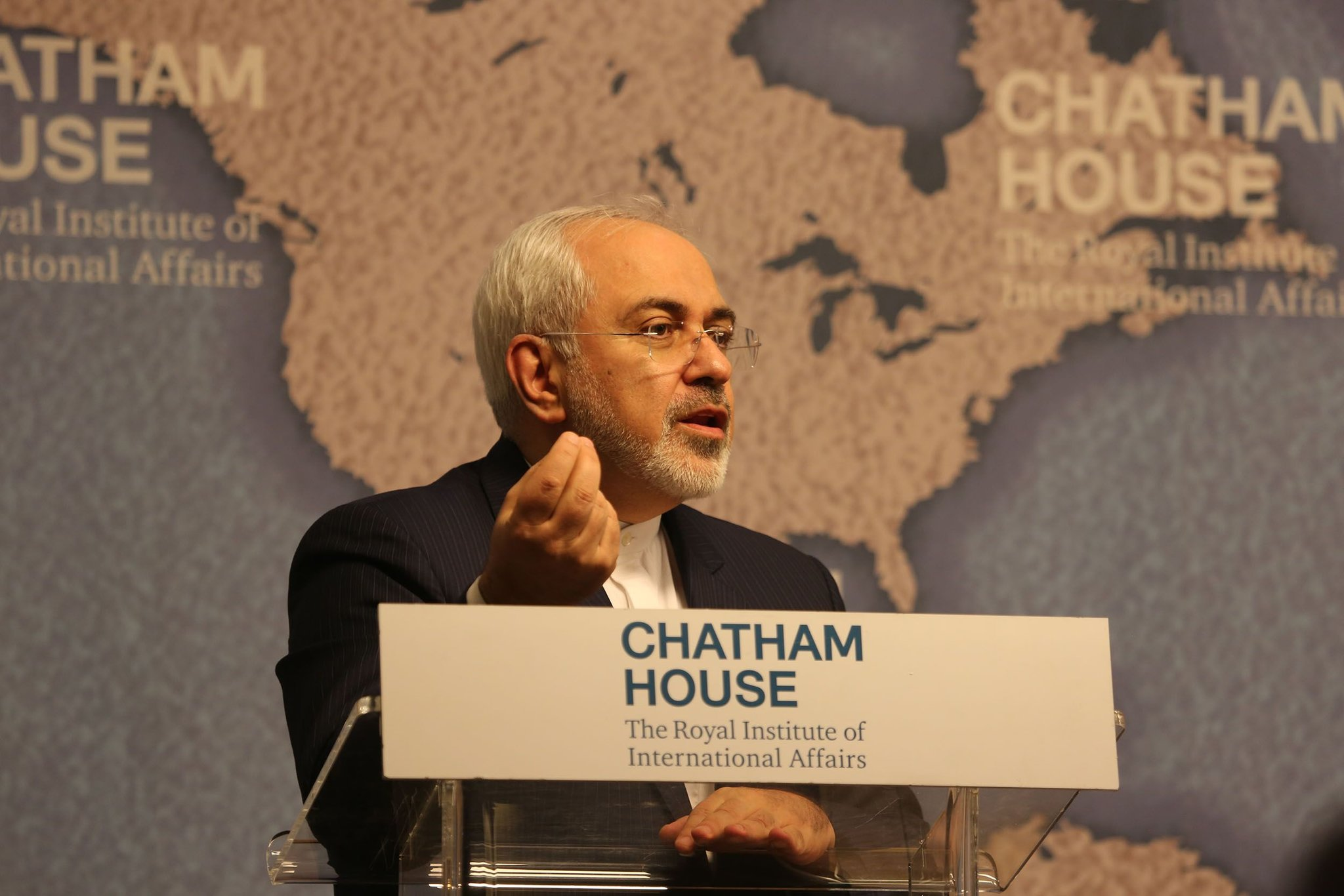 Мохаммад Джавад Зариф , автор: Chatham House, London [chathamhouse], лицензия: CC BY 2.0