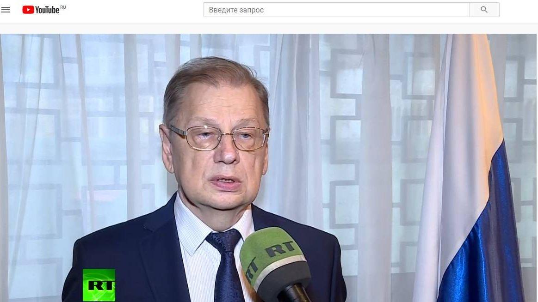 Цитата из видео: Посол РФ в Египте прокомментировал крушение самолета «Когалымавиа». Опубликовано: 31.10. 2015