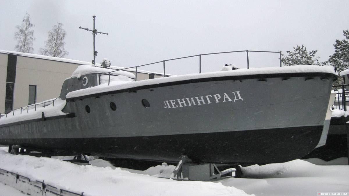 Минонометный катер «Ленинград» 1942 года постройки