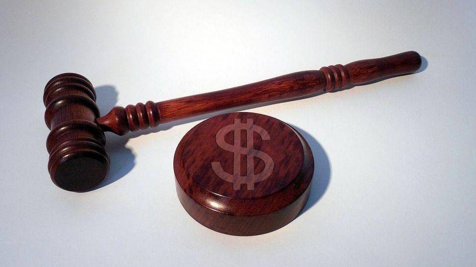 Молот, суд, dollar