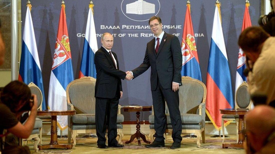Александр Вучич: Сербия никогда невведет санкций против Российской Федерации