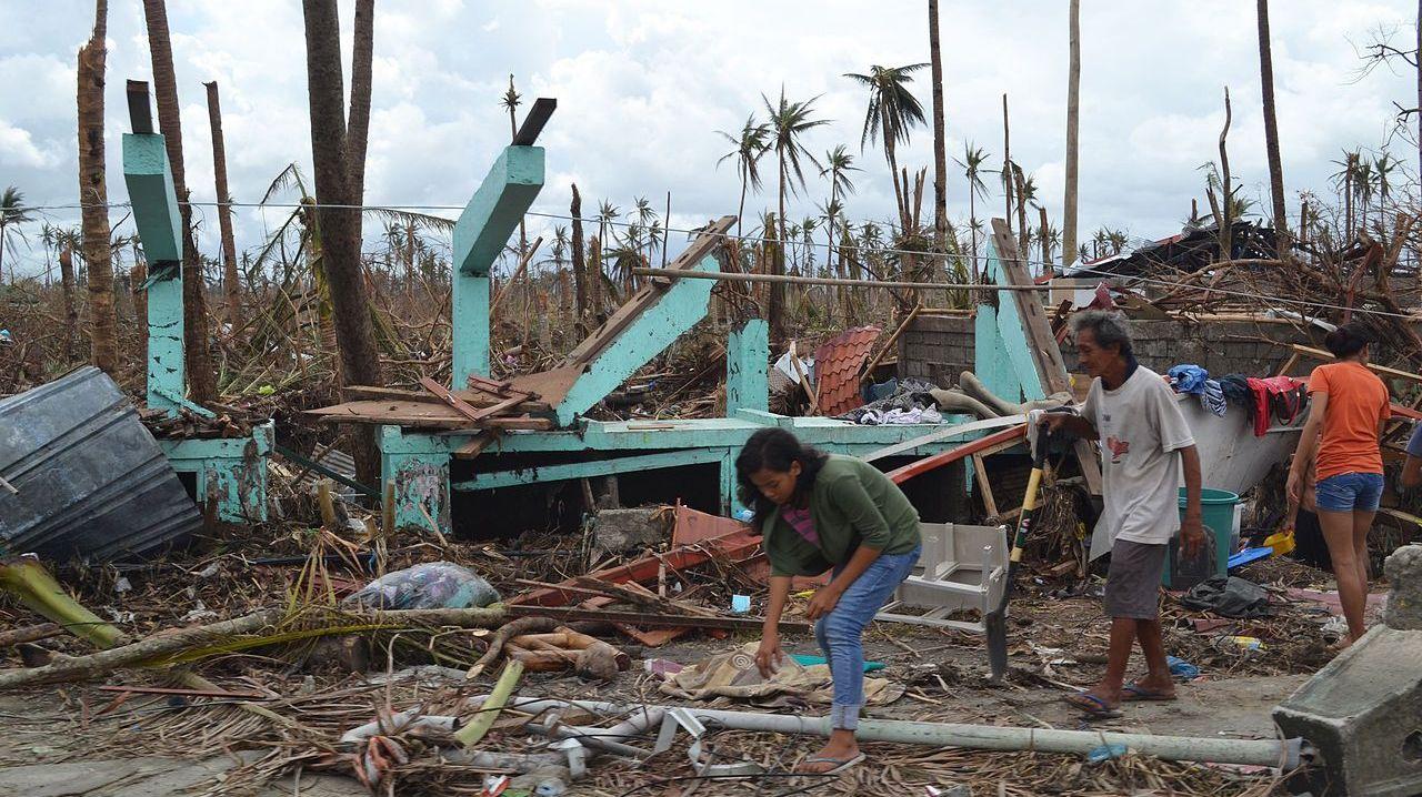 Ураган на Филиппинах