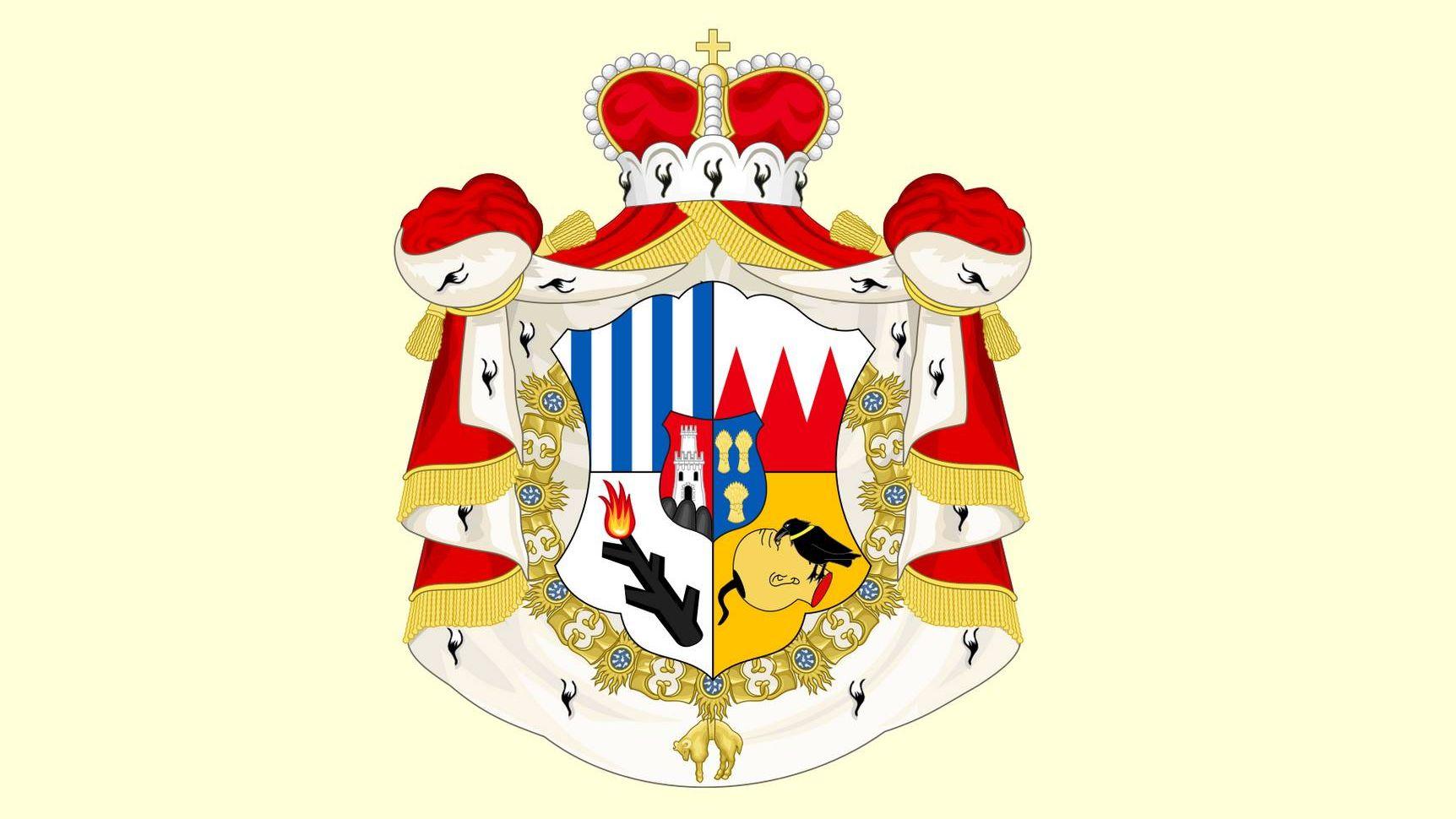 Княжеский герб Шварценбергов