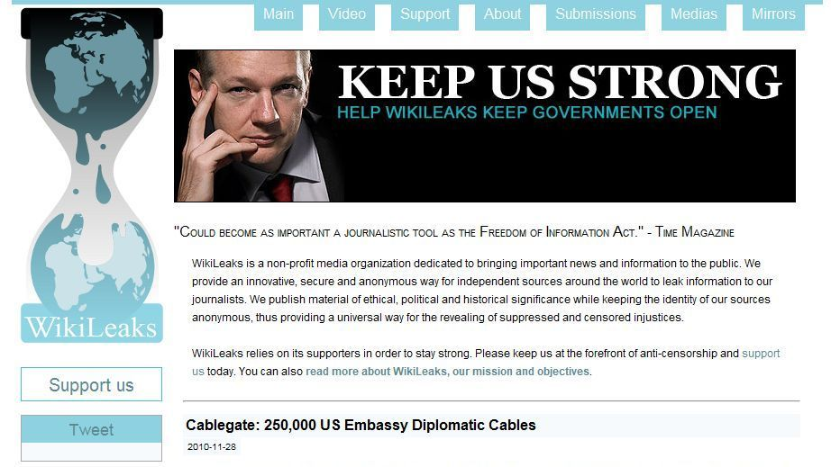 Прежний  информатор WikiLeaks баллотируется всенат США отдемократов