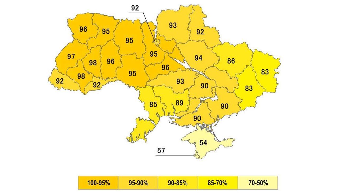 Голосование в поддержку независимости Украины на референдуме 01.12.1991
