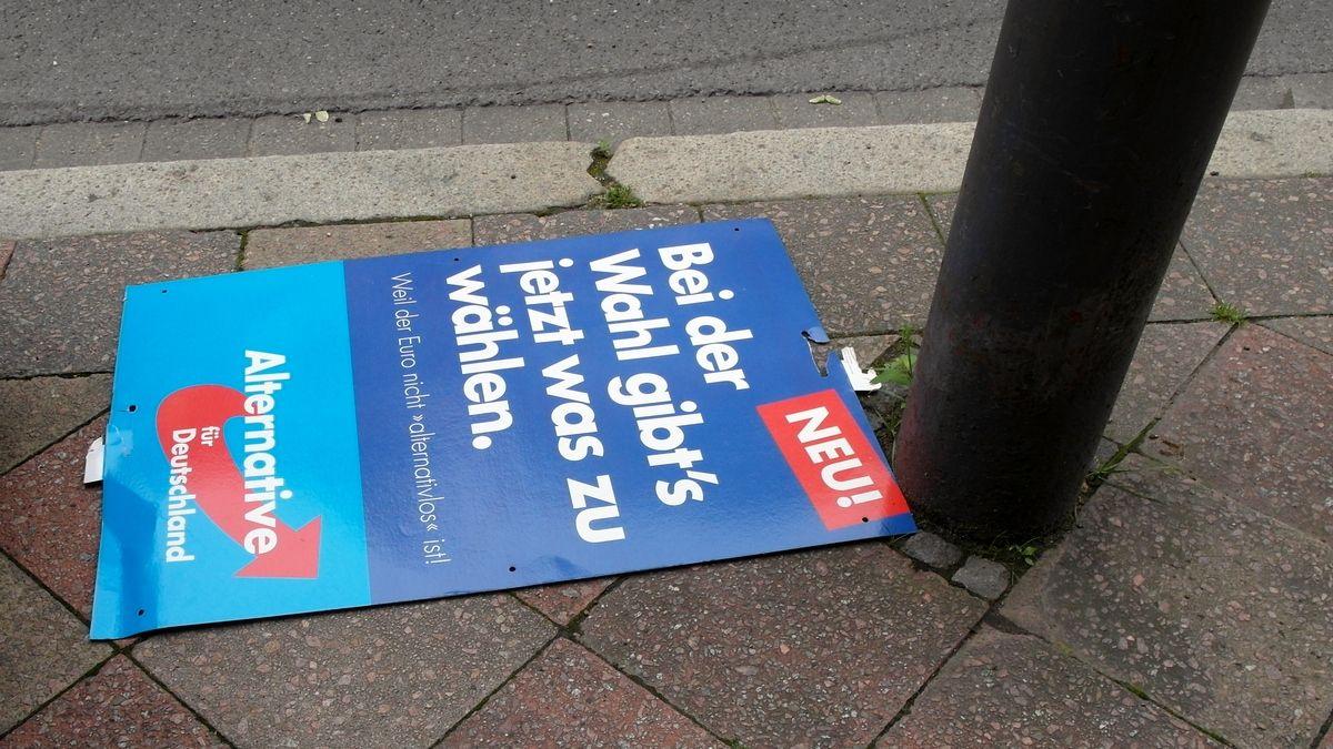 Агитационный плакат партии «Альтернатива для Германии»