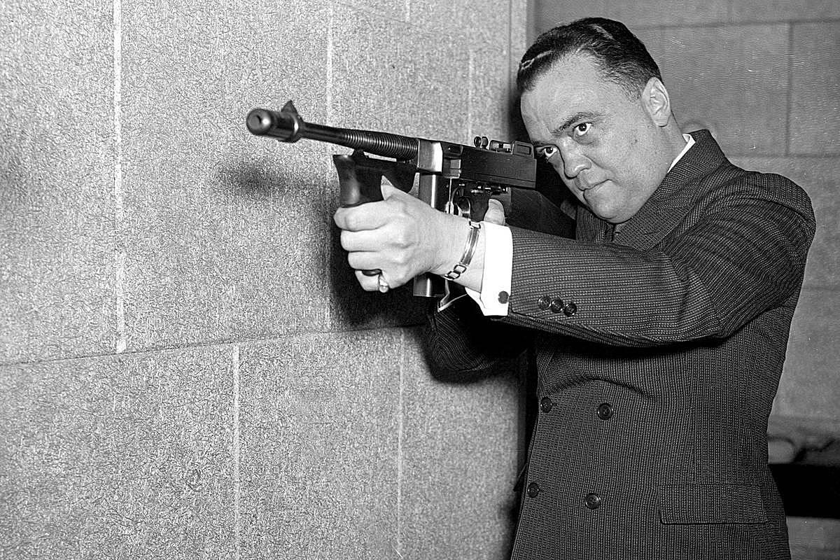 Джон Эдгар Гувер. 1936