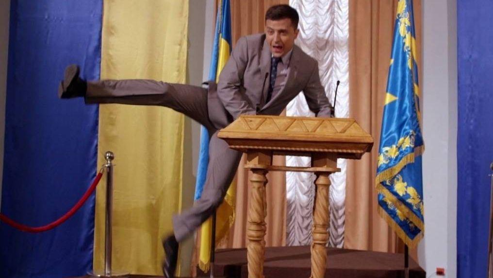 Владимир Зеленский в роли Василия Голобородько