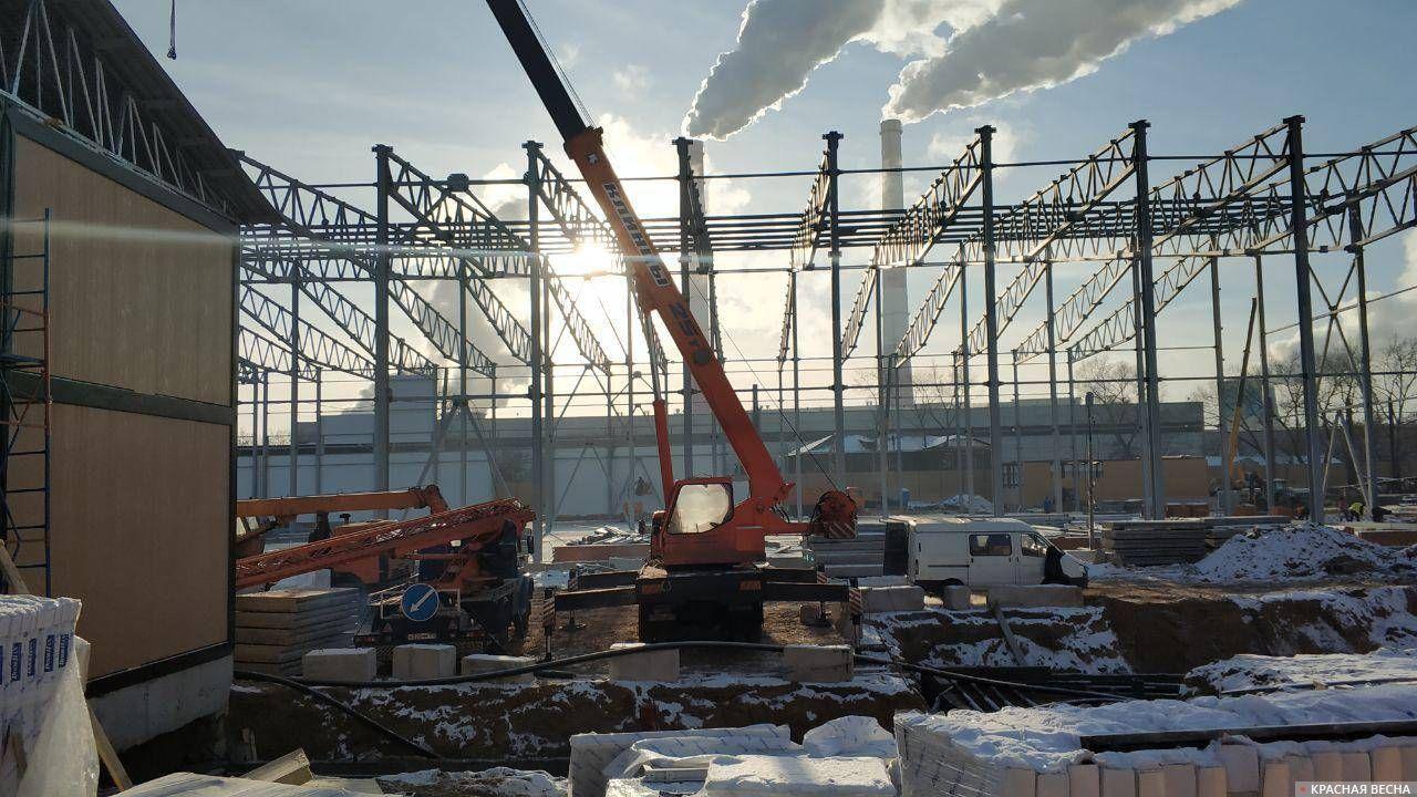 Строительство мусорного кластера на границе центрального и юго-восточного округов Москвы