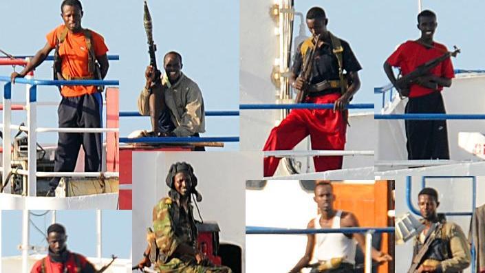 Сомалийские пираты [(cc) Mass communication Specialist 2nd Class Jason R. Zalasky]