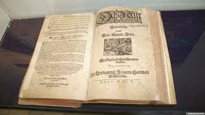 Библия в переводе Мартина Лютера издания 1605 года
