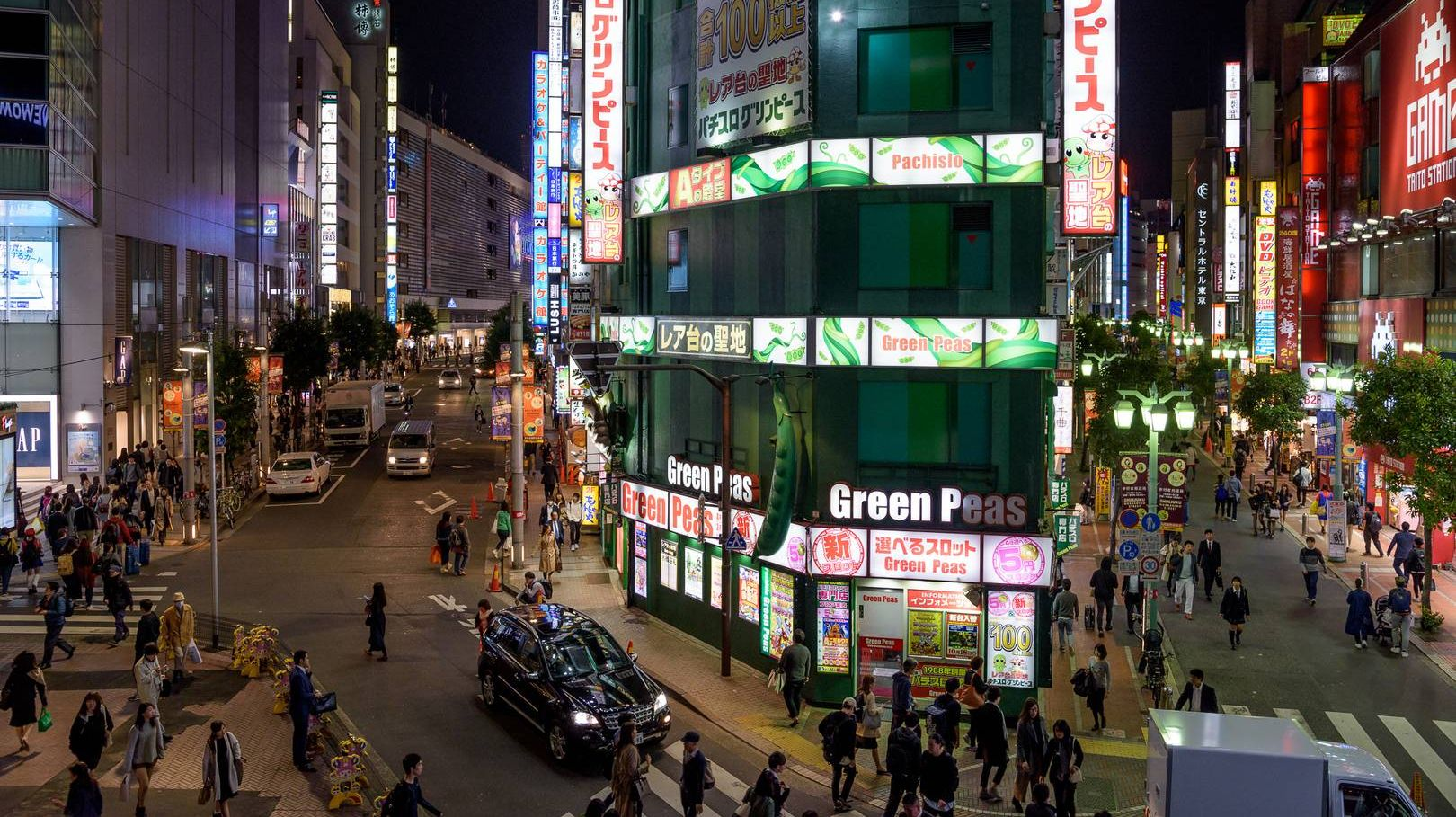 Район Синдзюку, Токио, Япония