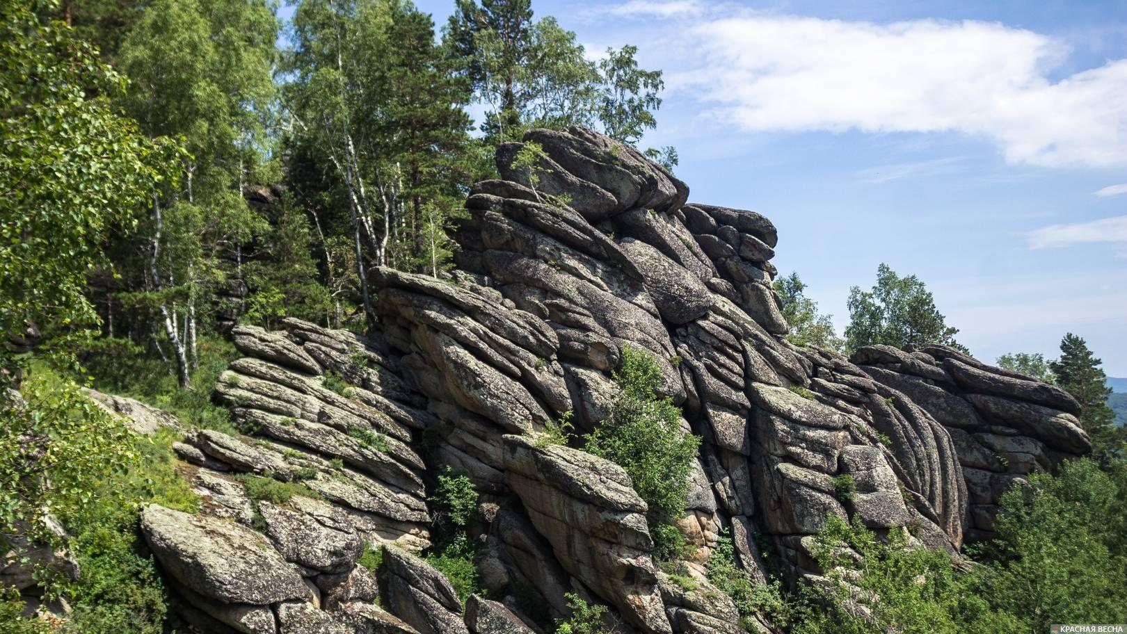 Каменный водопад. Окрестности Белокурихи. Алтай