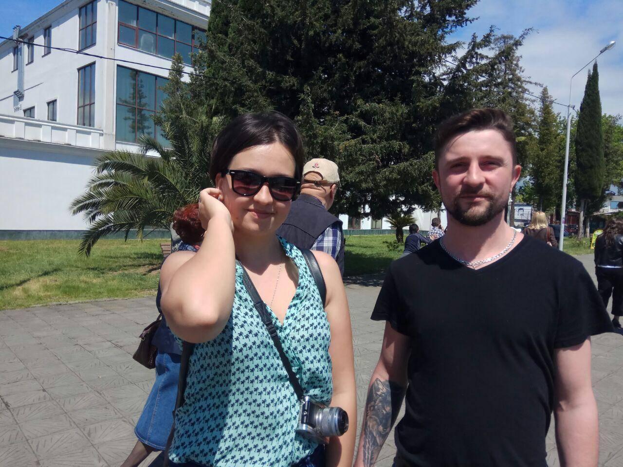 Максим и Екатерина. Сухум
