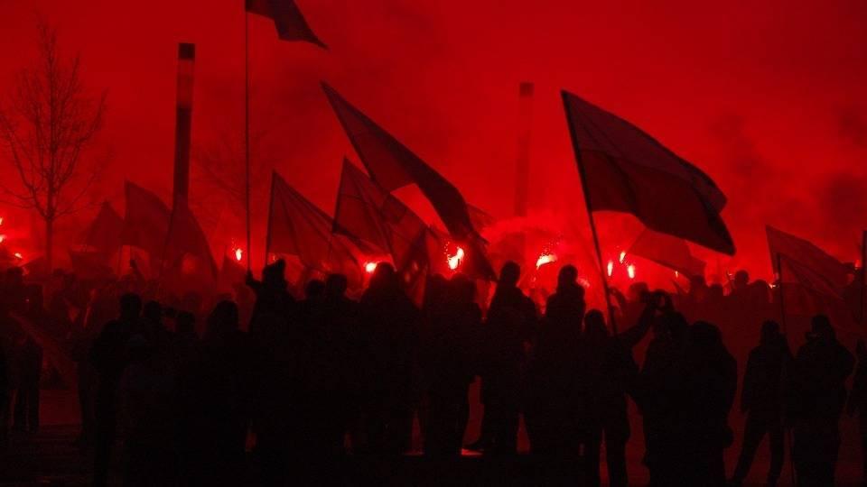 «Марш независимости». Варшава