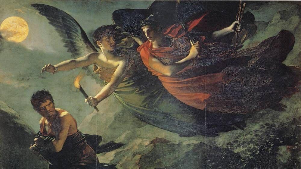 Прудон. Правосудие и Возмездие. 1808