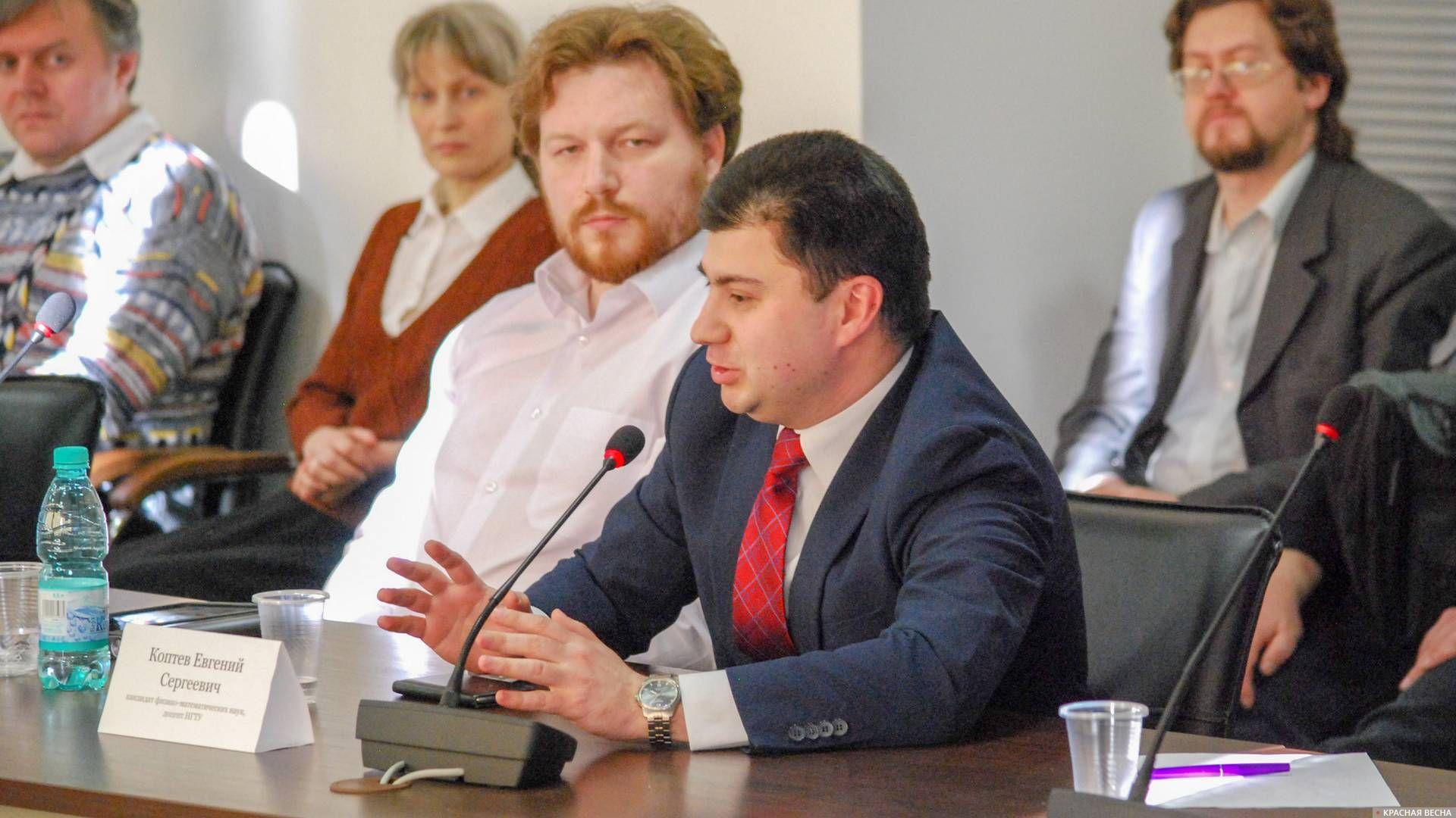 Доцент НГТУ на дискуссионном круглом столе в Новосибирске
