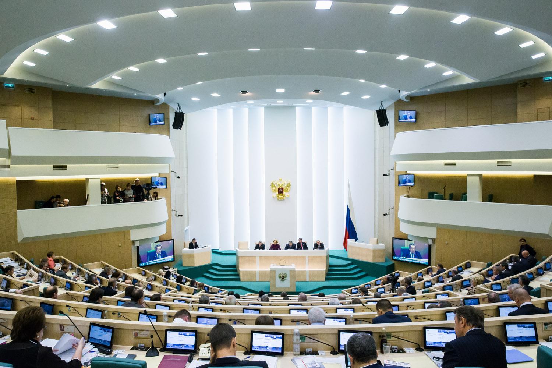 Зал заседаний Совета Федерации [(сс) Совет Федерации]