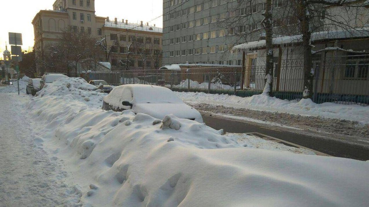 Москва. Большой Предтеченский переулок