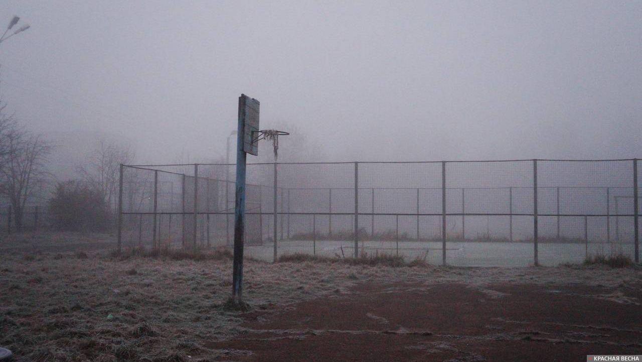 Туман в Твери