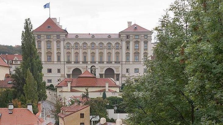 Чернинский дворец, в котором расположен МИД Чехии
