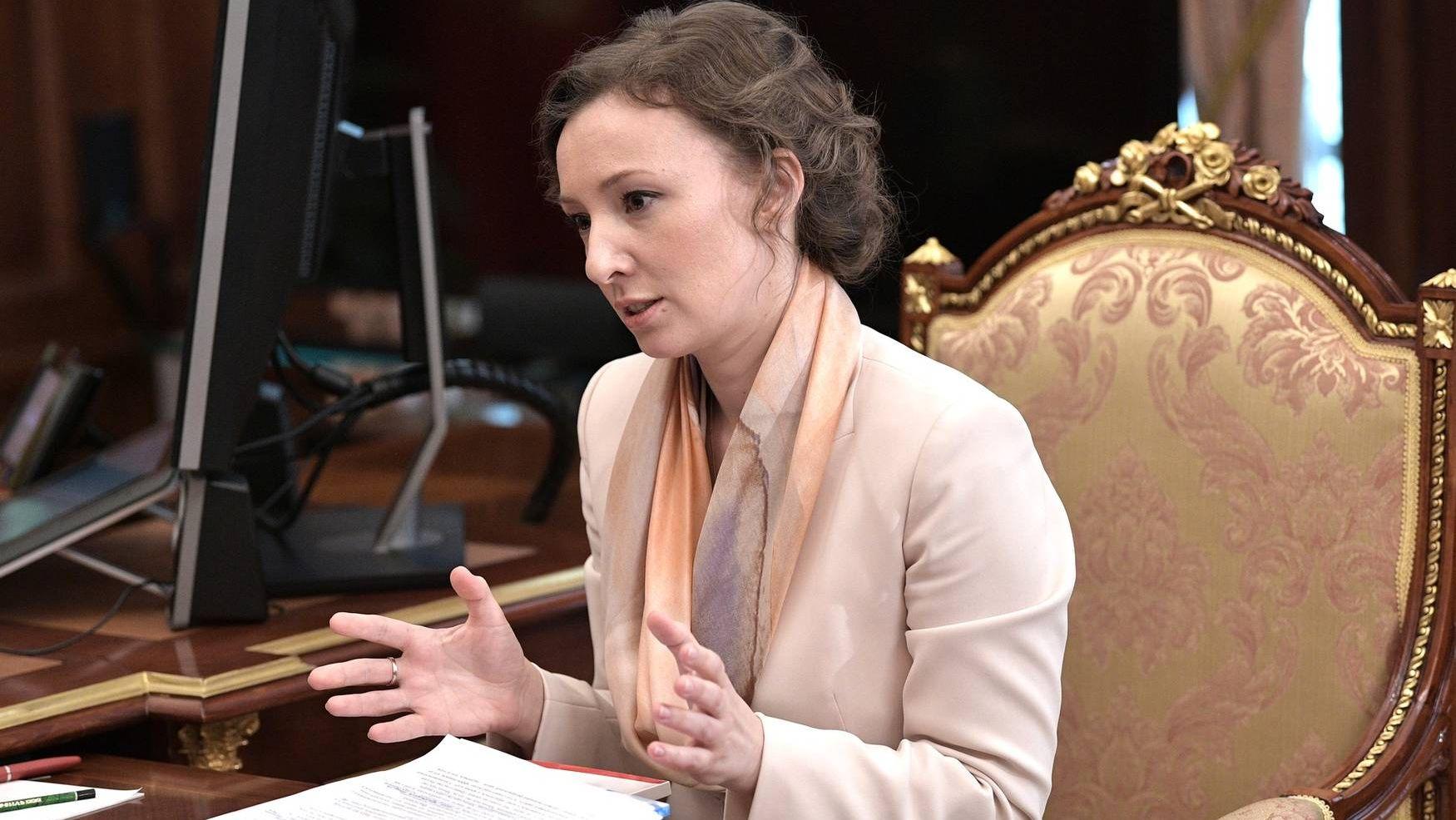 Уполномоченный по правам ребёнка Анна Кузнецова