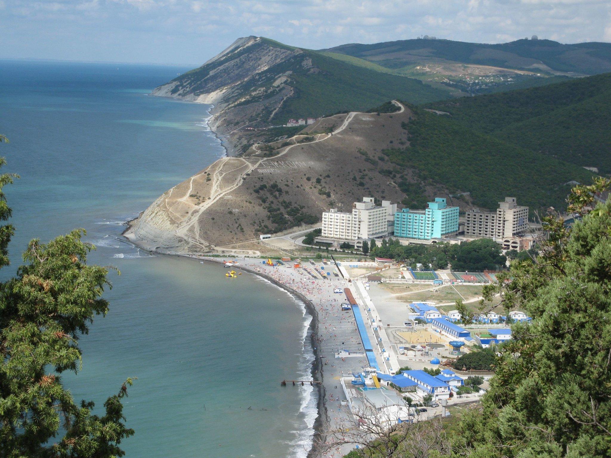 домов бассейном черноморские курорты фото города поселки является
